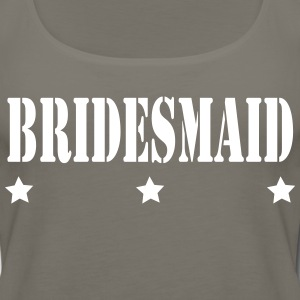 3 STAR BRIDES MAID - Women's Premium Tank Top