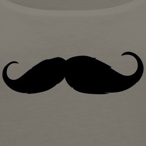 Moustache - Like a sir - Beard - Women's Premium Tank Top