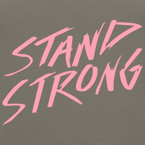 STAND STRONG - Women's Premium Tank Top