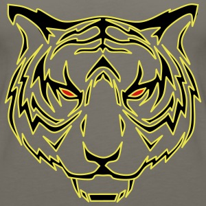 Tiger head - Women's Premium Tank Top