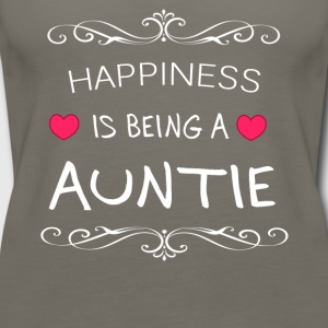 Happiness Is Being a AUNTIE - Women's Premium Tank Top