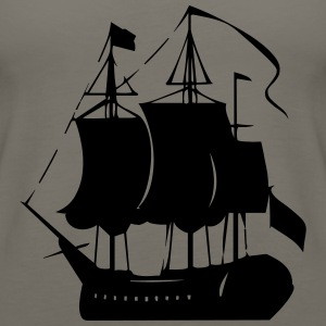 Pirate old ship - Women's Premium Tank Top