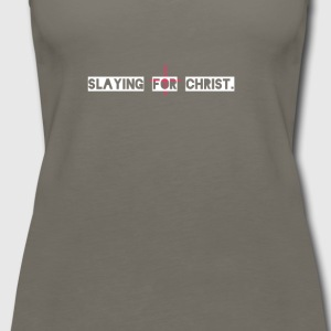 Slaying for Christ - Women's Premium Tank Top