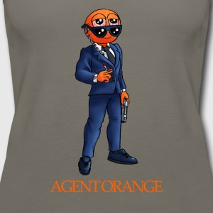 Agent orange - Women's Premium Tank Top