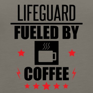 Lifeguard Fueled By Coffee - Women's Premium Tank Top