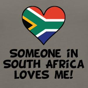 Someone In South Africa Loves Me - Women's Premium Tank Top