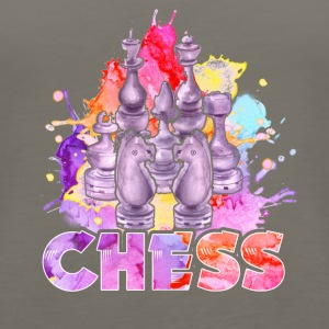 CHESS TEE & HOODIE - Women's Premium Tank Top