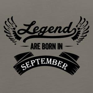 Legends are born in September - Women's Premium Tank Top