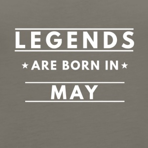 Legends are born in May - Women's Premium Tank Top