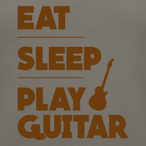 Eat Sleep Play Guitar Funny Tee Shirt - Women's Premium Tank Top