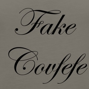 fake covfefe - Women's Premium Tank Top