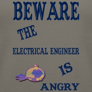 Beware The Electrical Engineer Is Angry - Women's Premium Tank Top