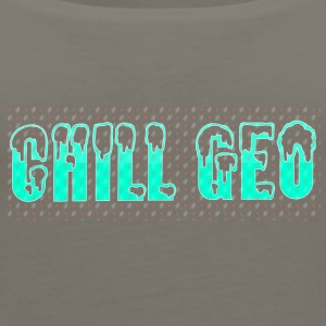 Chill. Geo Merchandise - Women's Premium Tank Top