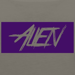 Alien-word-logo - Women's Premium Tank Top