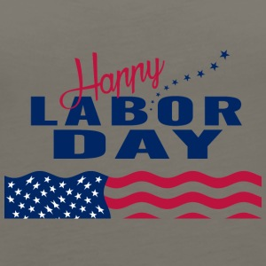Happy Labor Day - Women's Premium Tank Top