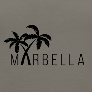 Marbella Palm Trees - Women's Premium Tank Top