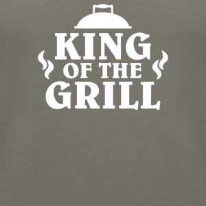 King Of The Grill - Women's Premium Tank Top