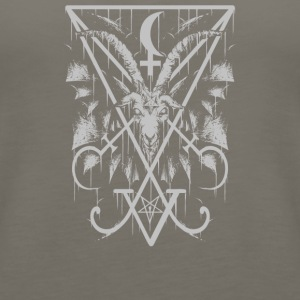 Sigil of Lucifer and Baphomet - Women's Premium Tank Top