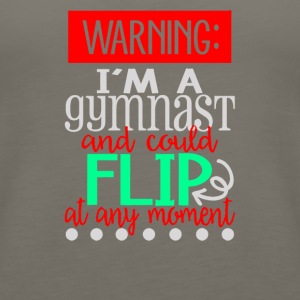 I m a Gymnast and could flip at any moment - Women's Premium Tank Top