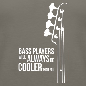 Bass Guitar Players Are Cool - Women's Premium Tank Top