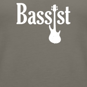 Bassist Guitar - Women's Premium Tank Top
