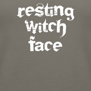 Resting witch face - Women's Premium Tank Top