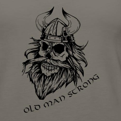 Old Man Strong Viking - Women's Premium Tank Top