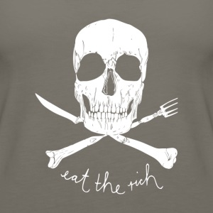 Eat The Rich - Women's Premium Tank Top