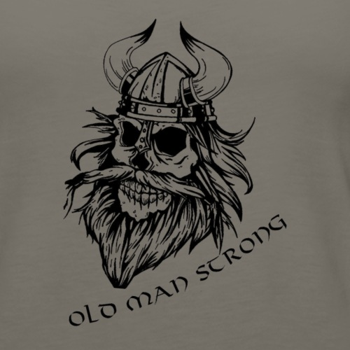 Old Man Strong Viking - Women's Premium Tank Top