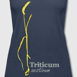 Wheat Print - Women's Premium Tank Top