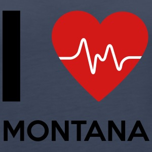 I Love Montana - Women's Premium Tank Top