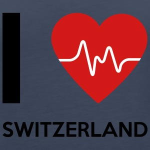 I Love Switzerland - Women's Premium Tank Top