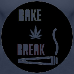 Bake Break Logo Cutout - Women's Premium Tank Top
