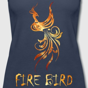 FIre bird on your shirt - Women's Premium Tank Top