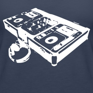 DJ Turntable - Women's Premium Tank Top