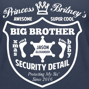 Big Brother Security Detail Shirt - Women's Premium Tank Top