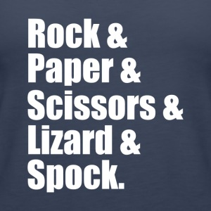 Rock Paper Scissors Lizard Spock - Women's Premium Tank Top
