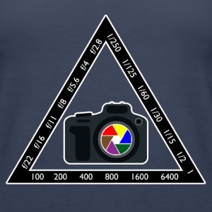 Camera Pyramid - Women's Premium Tank Top