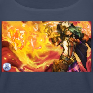 Fire Witch Etna - Women's Premium Tank Top