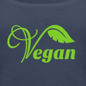 Vegan Logo - Women's Premium Tank Top