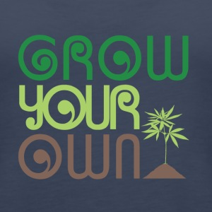 Grow Your Own Marijuana - Women's Premium Tank Top