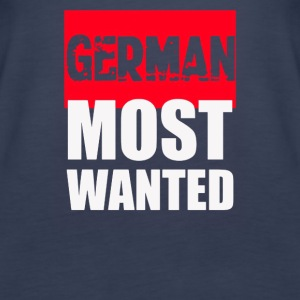 GERMAN Most Wanted - Women's Premium Tank Top