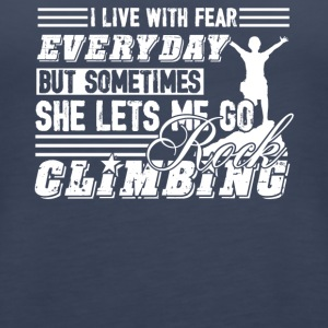 Go Rock Climbing Shirts - Women's Premium Tank Top