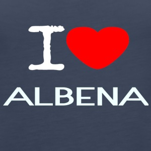 I LOVE ALBENA - Women's Premium Tank Top