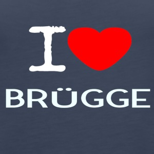 I LOVE BRUEGGE - Women's Premium Tank Top