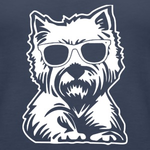 West Highland White Terrier Tee Shirt - Women's Premium Tank Top