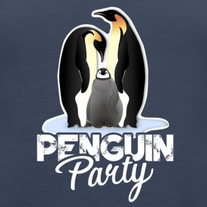 Penguin Party Clothes - Women's Premium Tank Top