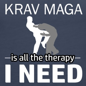 Krav Maga is my therapy - Women's Premium Tank Top