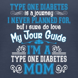 I'm A Type One Diabetes Mom T Shirt - Women's Premium Tank Top