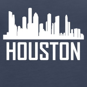 Houston Texas City Skyline - Women's Premium Tank Top